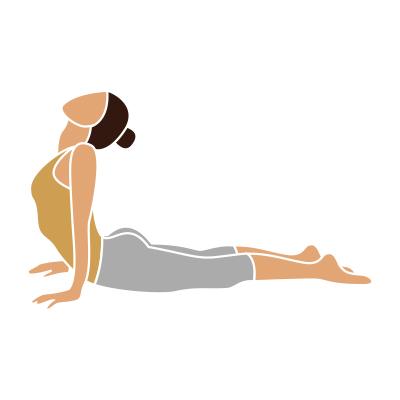 Eine Yogafitnessfigur Ashtanga Yoga Anette Holzmann
