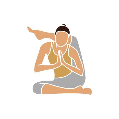 Yogafigur Ashtanga Yoga Anette Holzmann für Könner